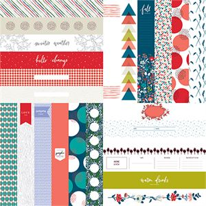 """Picture of Happy Life 2"""" Border Strips - Set 12"""